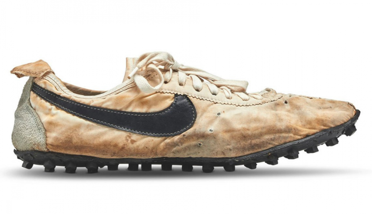 Zapatillas Nike modelo 'Moon Shoe'