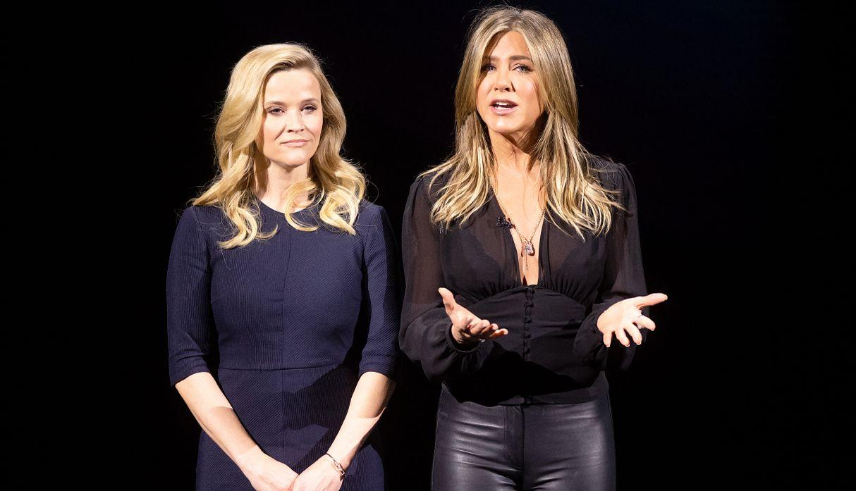 Jennifer Aniston y Reese Witherspoon en primer tráiler 'The Morning Show' de Apple TV+