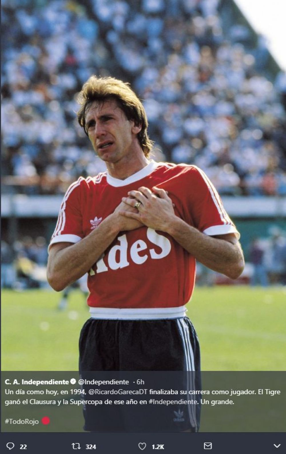 Independiente Ricardo Gareca