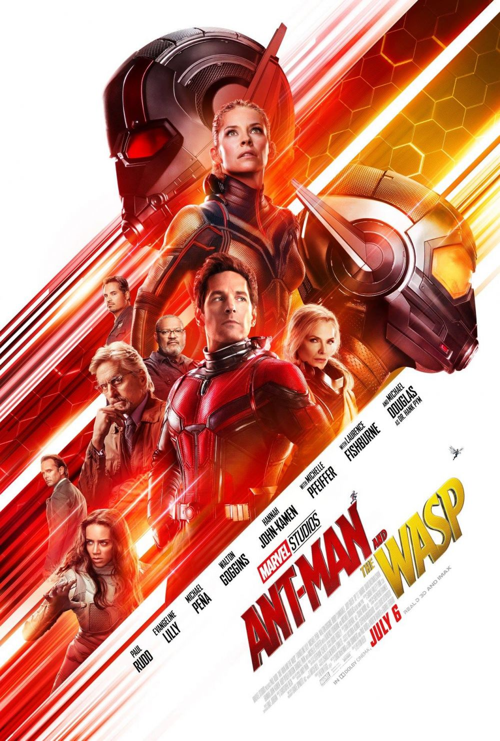 Nuevo póster de 'Ant-Man and the Wasp'. (Facebook Marvel Studios)