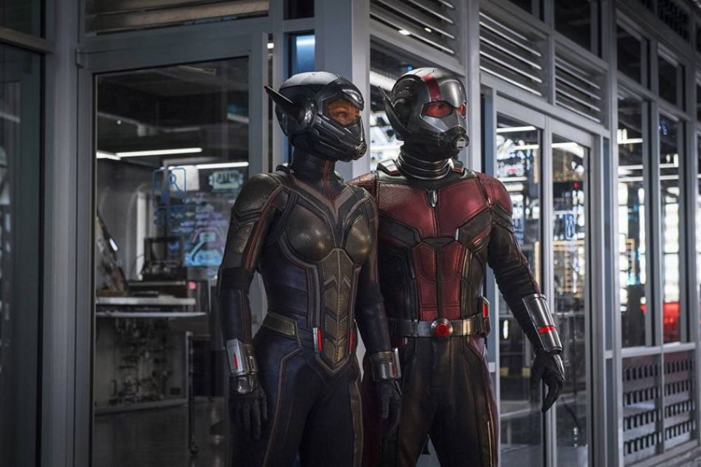 Paul Rudd es Ant-Man y Evangeline Lilly es Wasp (Foto: Marvel)