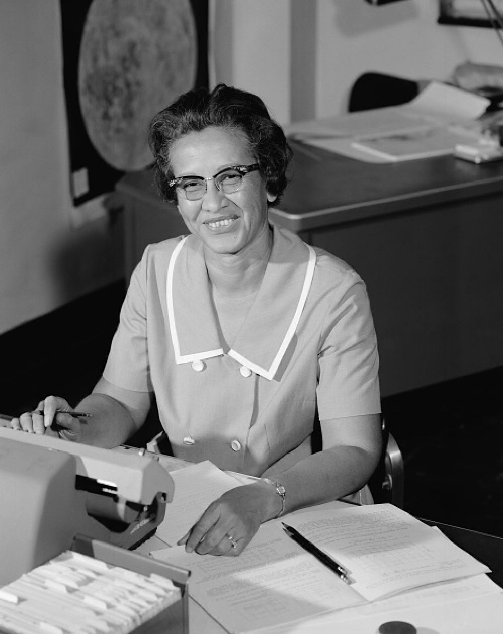 Katherine Johnson. (Getty)