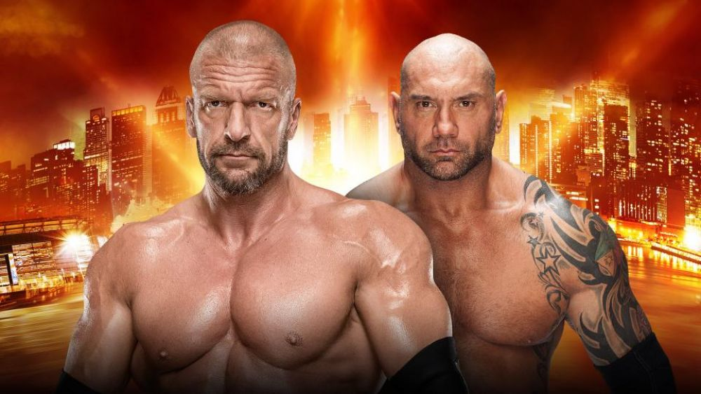 No Holds Barred Match - Triple H vs. Batista